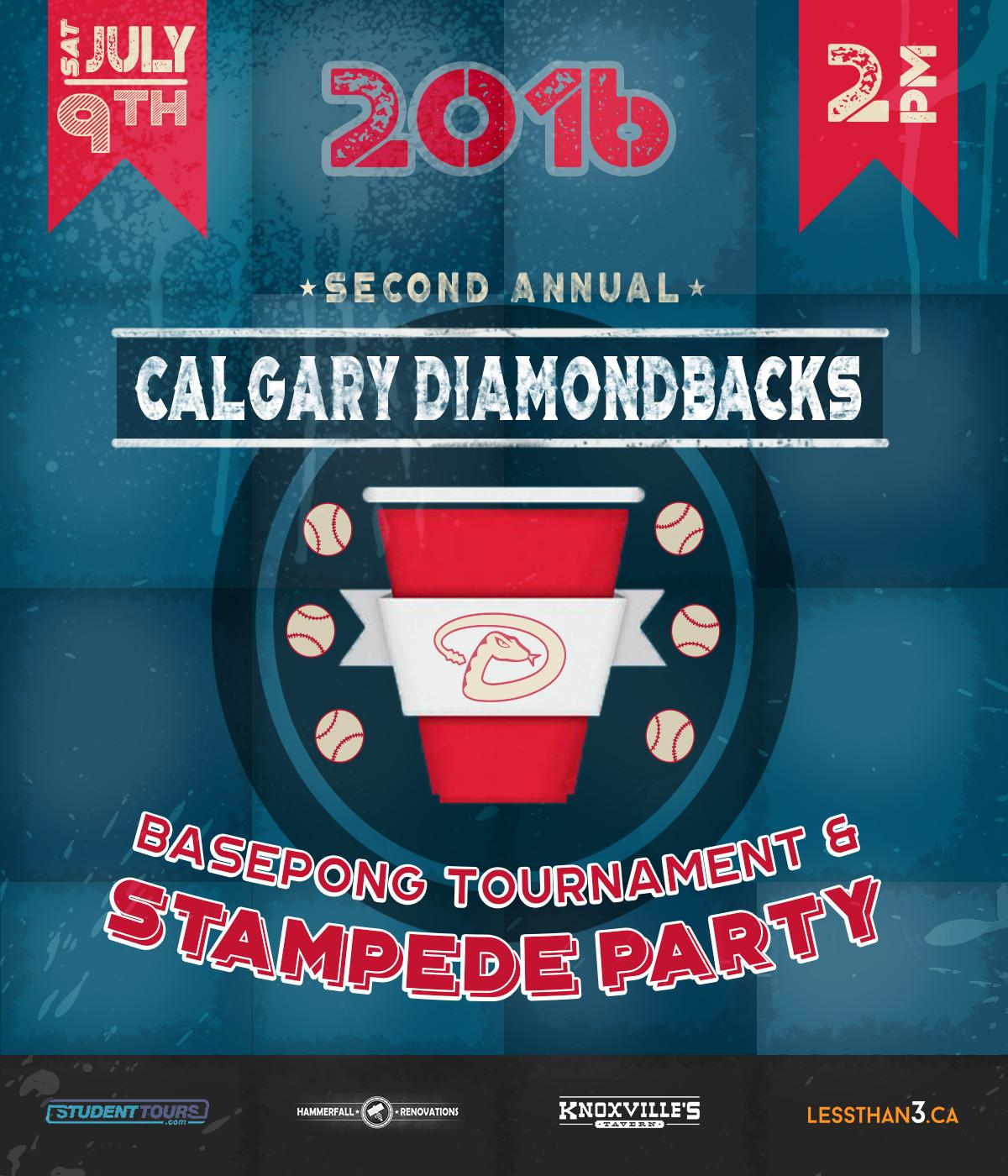 DiamondBacks Stampede Party