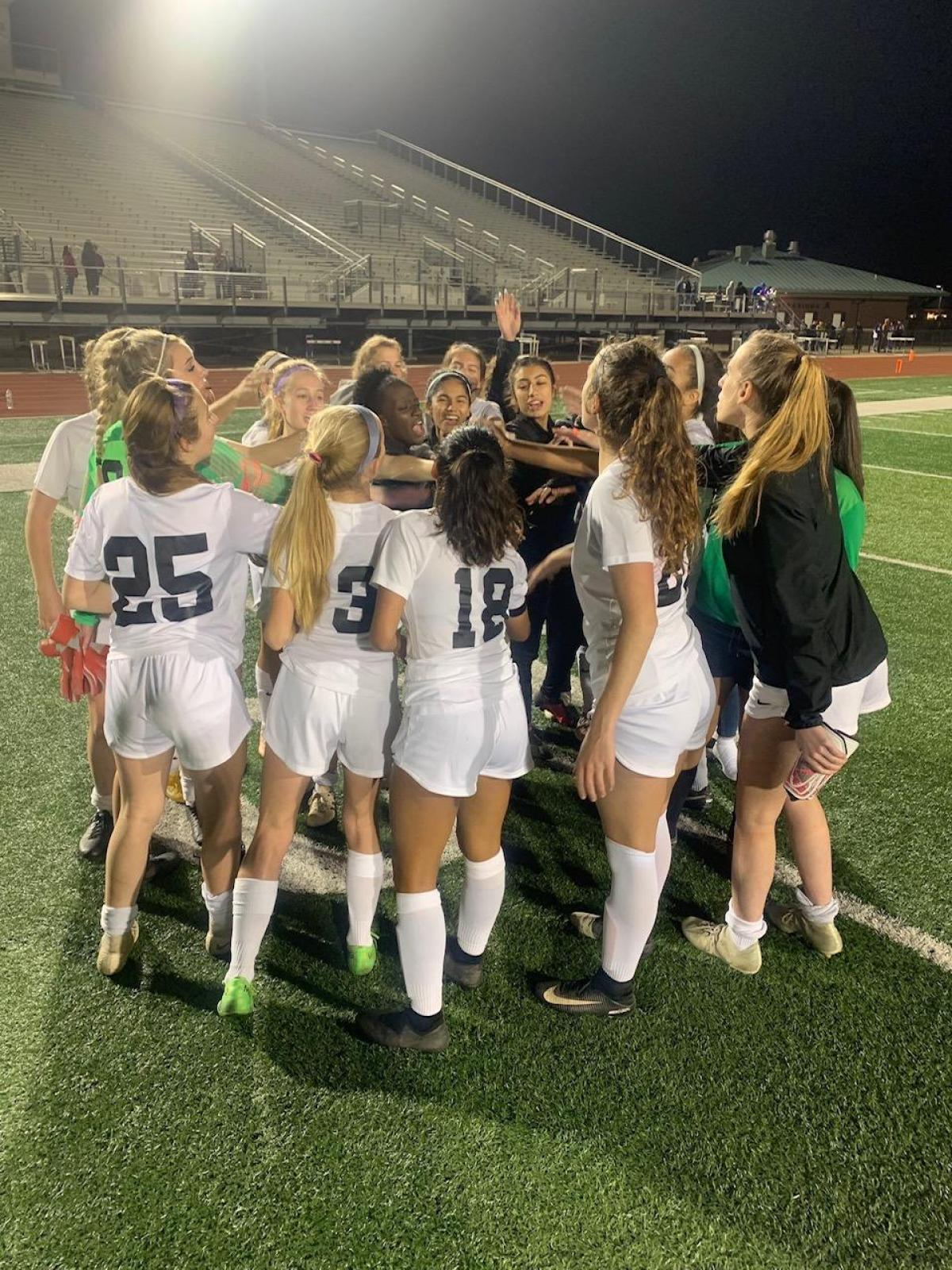 Lady Falcons vs. Angleton Recap 2