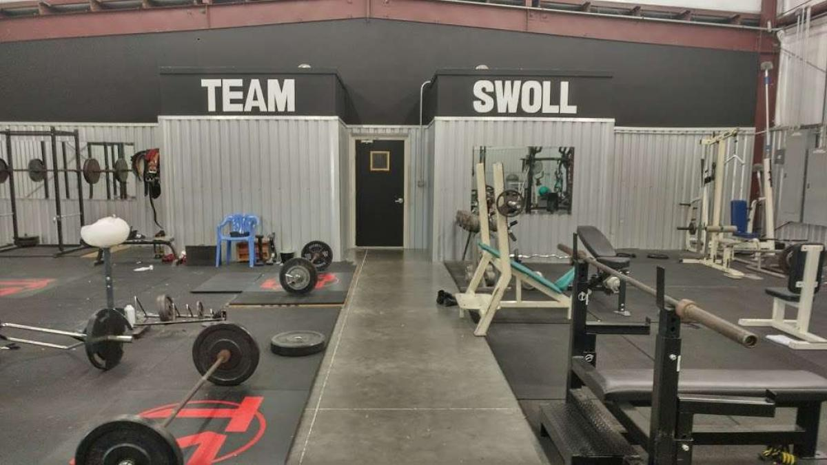 Team Swoll donates 5 tractor tires to Girl's Track and Field