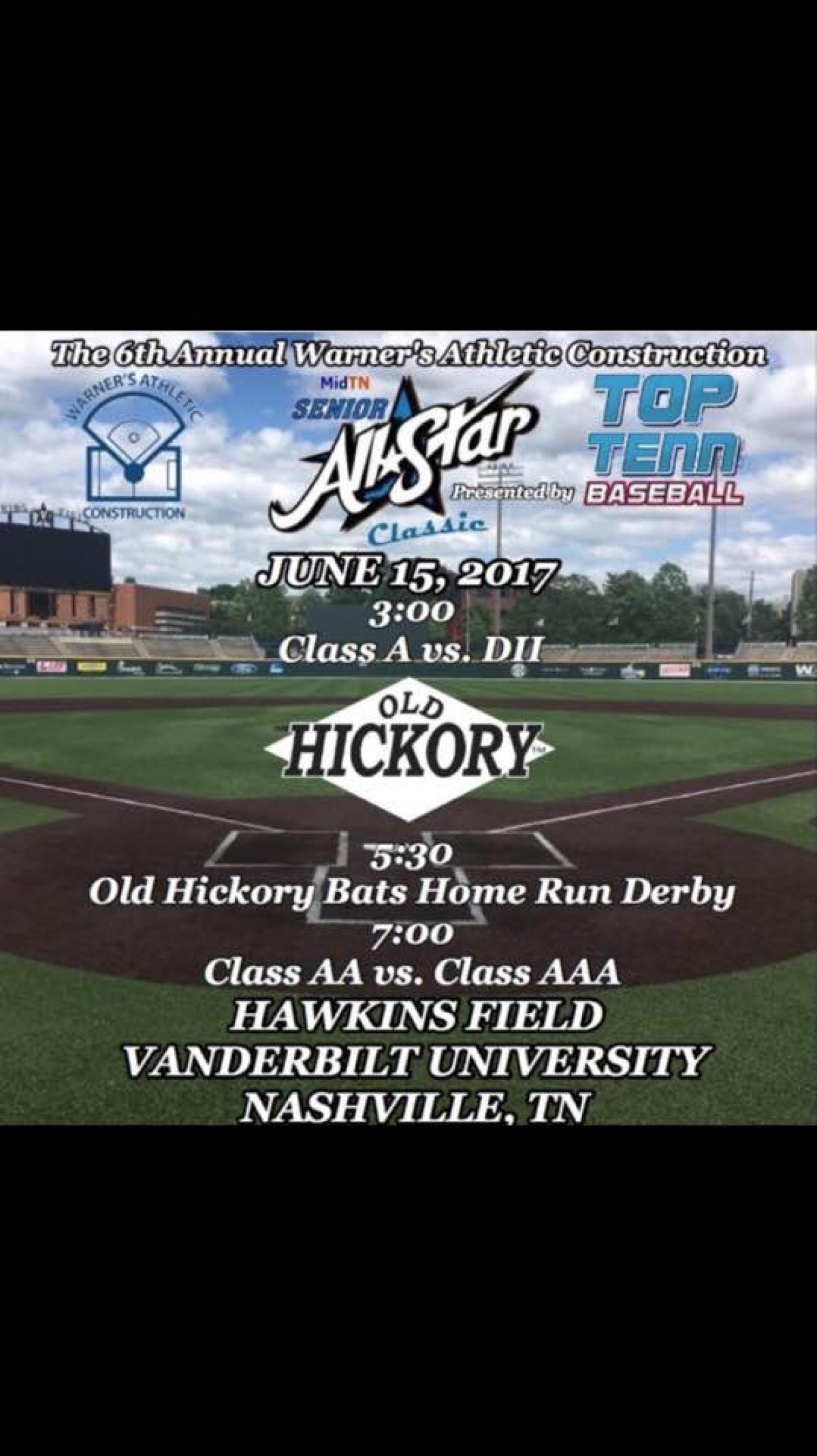 Two Tigers to Play in Mid-TN Senior All-Star Classic