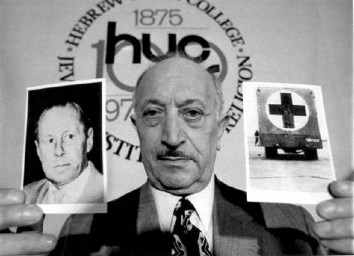 NEWS TO REMEMBER: NAZI HUNTER SIMON WIESENTHAL DIES AT 96