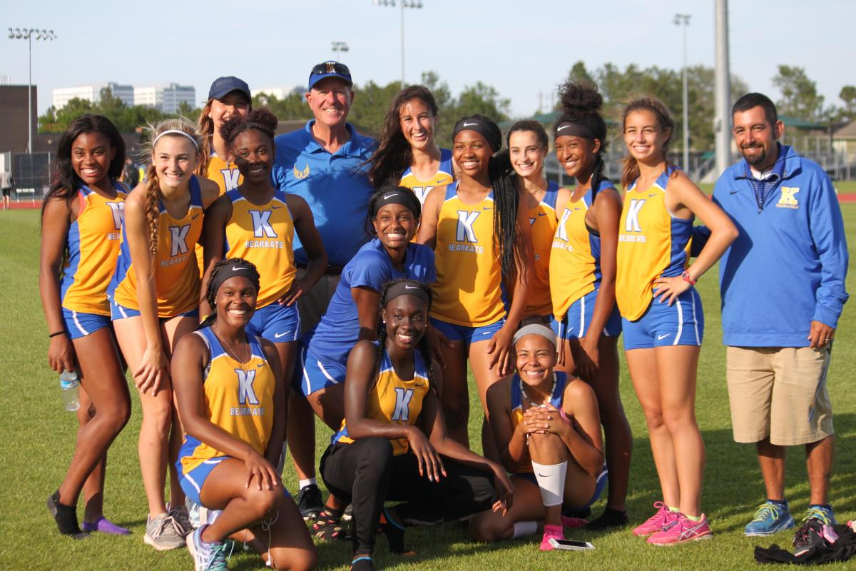 KHS Varsity Girls are Track District Champs!  (for 2nd year in a row!) Many KHS track athletes are Area Qualifiers!