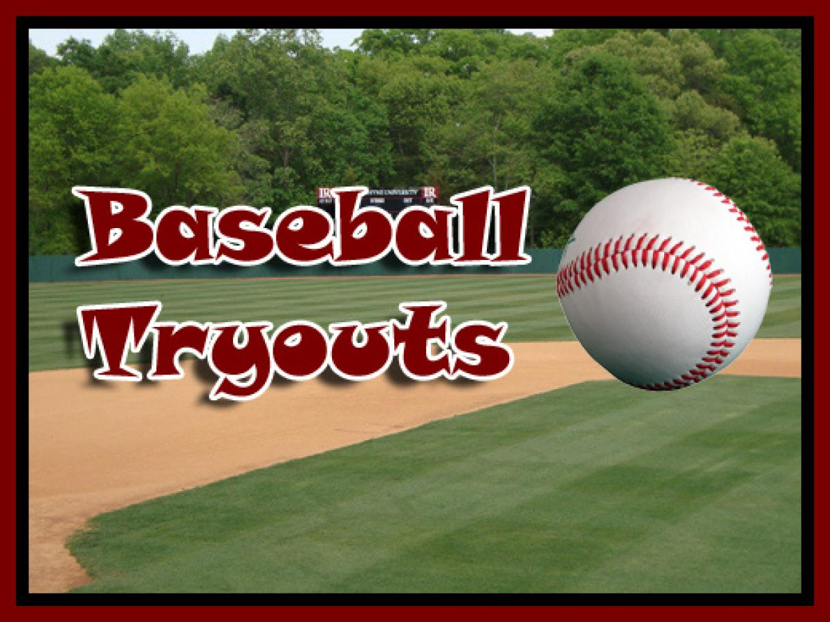 Tryout Dates - Set for 2017 Season