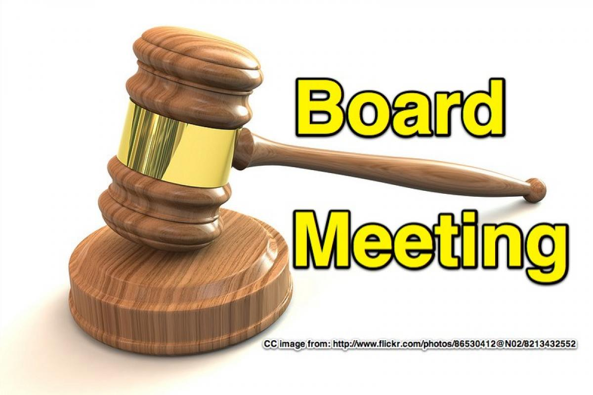 October Board Meeting!