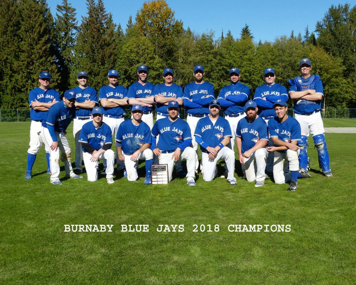 Blue Jays Win 3rd Straight 30+ Division Title