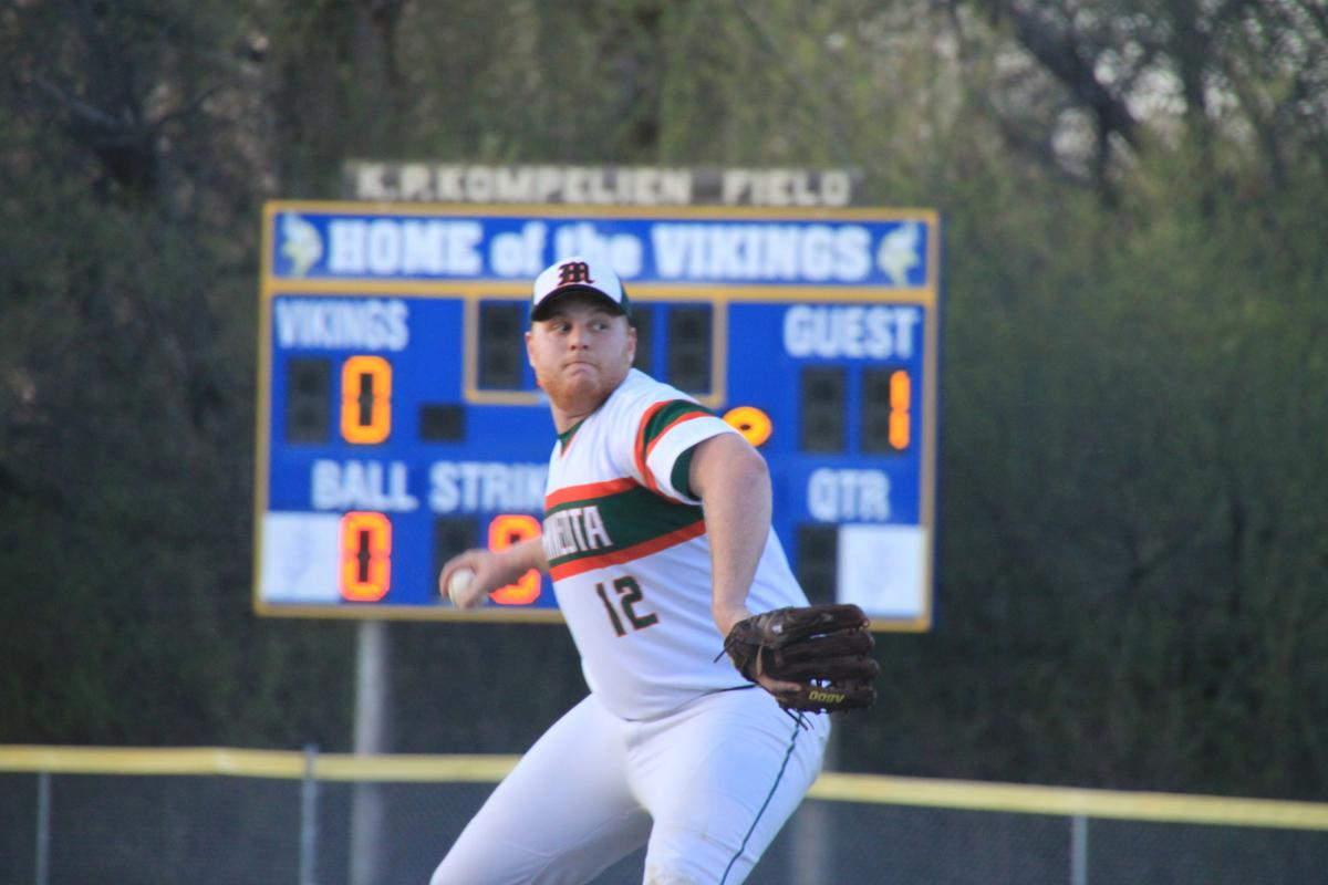 Zach Nuy pitches win over Pipestone