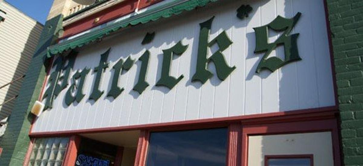 Friday is Patrick's Burger and Keg Night