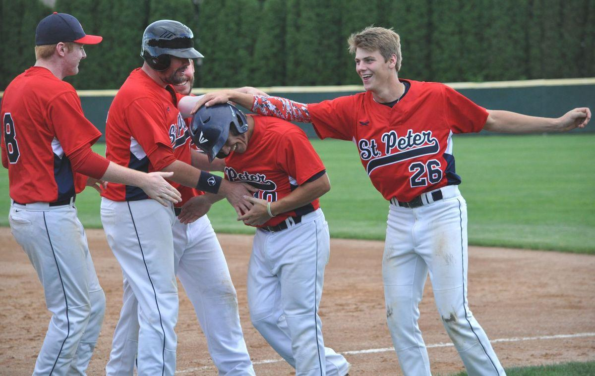 St. Peter holds off Henderson upset bid, wins 3-2 and returns to state tourney