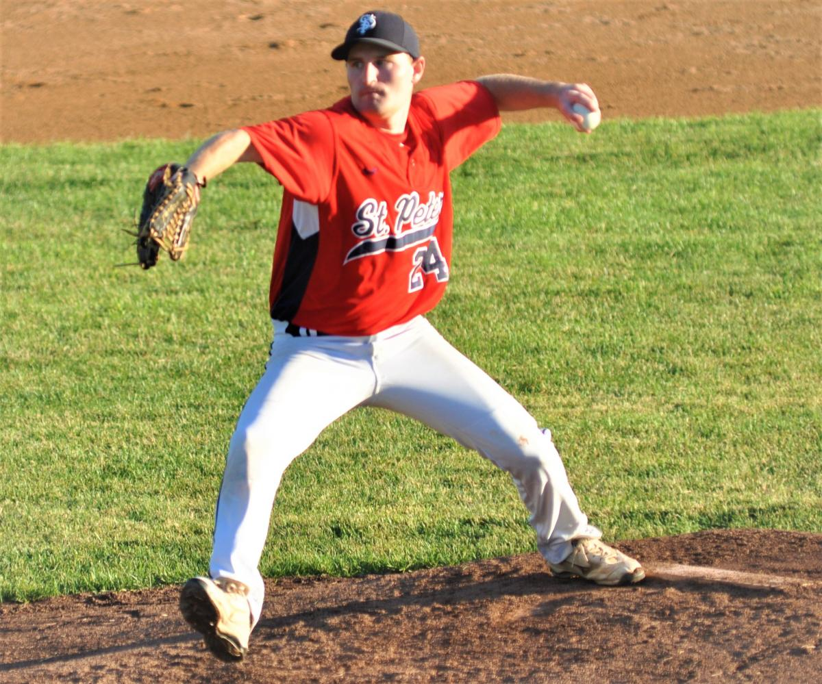 Regner tosses gem as St. Peter sweeps Belle Plaine