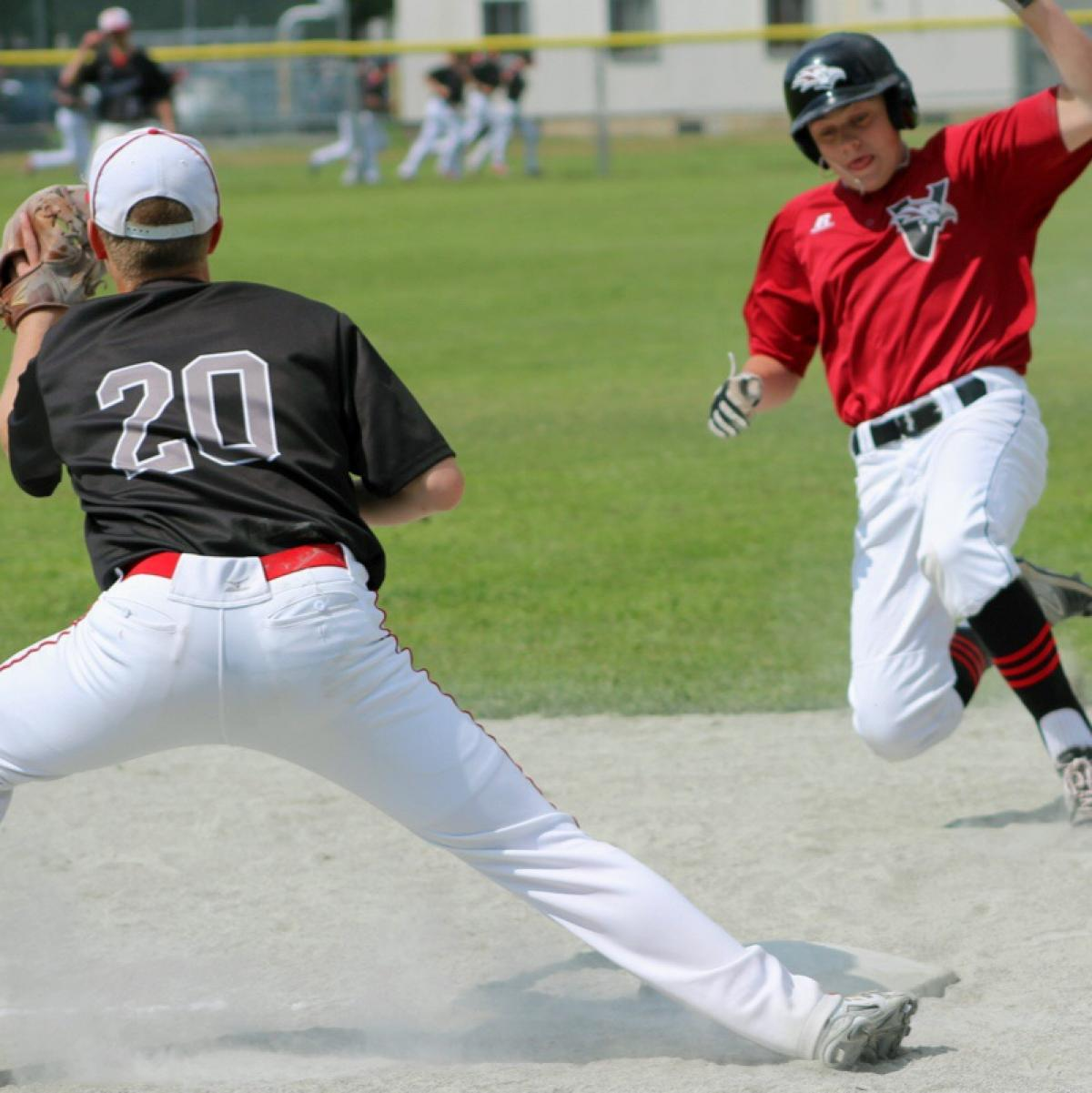 Victoria Day Richmond Tournament - Black Eagles 14-4 over Okotoks Dawgs Black