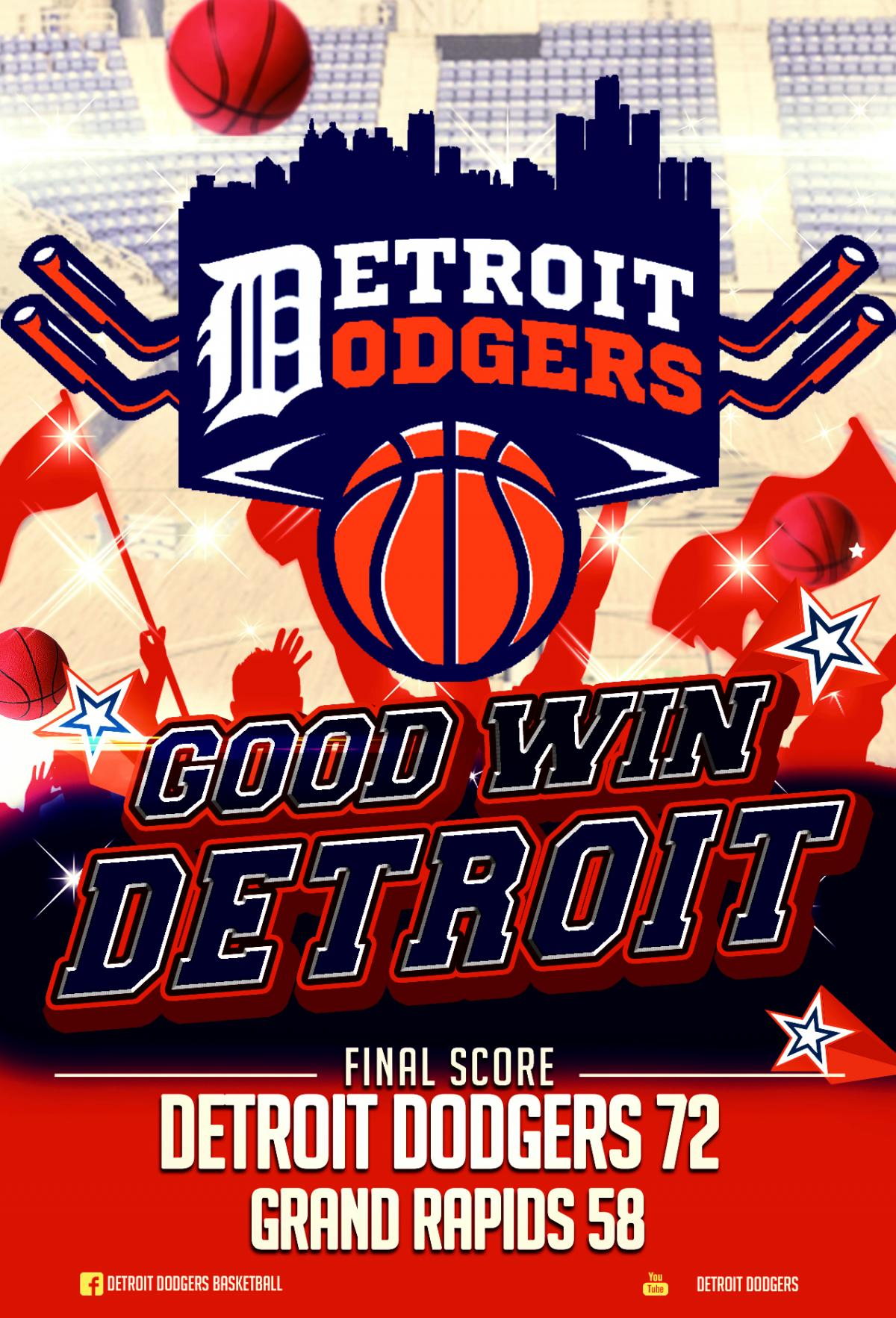 GOOD WIN DETROIT