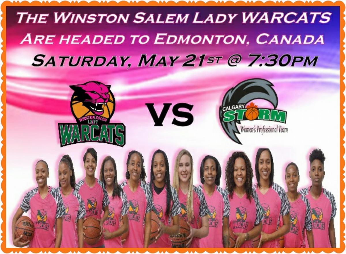 The Winston Salem Lady WARCATS are Headed to Edmonton, Canada!!!