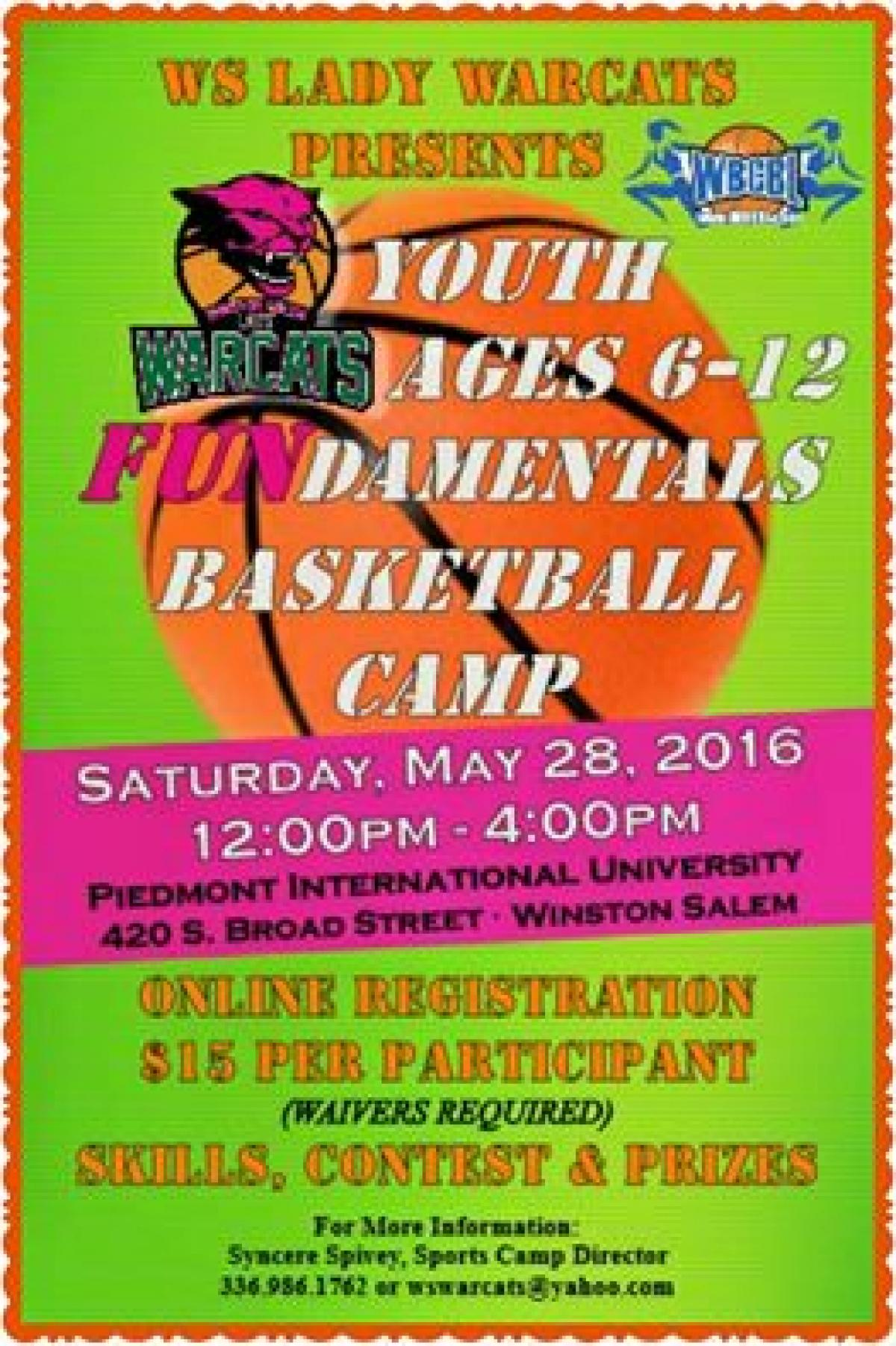 2016 Youth FUNdamentals Basketball Camp